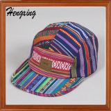 Сплетенный шлем Snapback шлема панели логоса 5