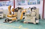 Automatisierungs-Strecker mit Zufuhr und Uncoiler mit in der Presse-Maschine