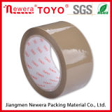 Adhesive e Single acrilici Sided BOPP Brown Packing Tape per Carton Sealing