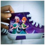 De Schoenen van pvc van de Druk van Doll voor de Uitvoer met Vergunning