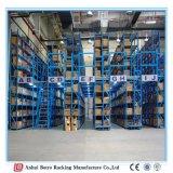 Illustrazioni del magazzino della struttura d'acciaio, mezzanine pesante di memoria della Cina della mensola di caricamento