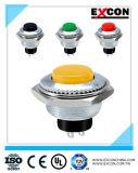 LEDのスイッチが付いている前科者Pb01の押しボタンスイッチ