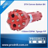 """Pressão de ar elevada 3 """" - bocado de 12 """" DTH para a perfuração do poço de água"""