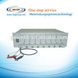 Analyseur de batterie de 8 glissières/Cycler (0.1-10 mA jusqu'à 5V) avec les électrodes Gn-Bst8-Ma de batterie de recherche et développement de logiciel