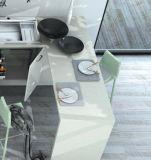 高い光沢のある紫外線ラッカー食器棚(zz-076)