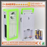 Перезаряжаемые солнечное аварийное освещение с 1W электрофонарем, выход USB (SH-1903A)