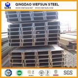 Viga de aço do aço suave U de Ss400 6m