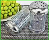 Vente en gros d'usine bouteille en verre de condiment de 80 ml d'épice de bouteille de BBQ de sel en verre de poivre