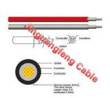 Câble solaire à un noyau de cuivre bidon approuvé de picovolte