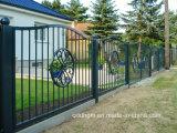 A alta qualidade projeta a cerca do metal