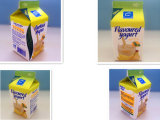500 ml de 3 capas leche fresca Gable Top Box Papel