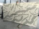 Preço de fábrica artificial da pedra da laje de quartzo da bancada de mármore da cor