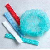 La calca igienica blu ricopre le reti di capelli Janitorial d'approvvigionamento blu delle reti di capelli
