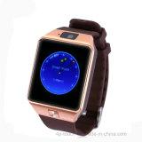 Reloj elegante del regalo de la promoción de Bluetooth con la cámara de 2,0 m Dz09