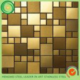 L'acier inoxydable décoratif couvre de tuiles la mosaïque du fournisseur de la Chine