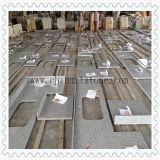 Controsoffitto della cucina del granito di bianco cinese per il progetto dell'hotel e della casa