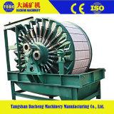 Filtro de vácuo magnético permanente do cilindro automático cheio do ferro