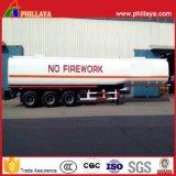 Öltanker-Transport-LKW-halb Schlussteil-Stahldieselkraftstofftank