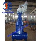 Valvola a saracinesca elettrica saldata ad alta pressione dell'ANSI della centrale elettrica dell'acciaio di getto