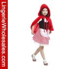 Платье партии Cosplay Halloween девушок меньший Costume красного клобука Riding