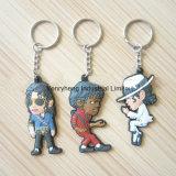 Kundenspezifische fördernde weiche Belüftung-Schlüsselkette, Schlüsselmarke, Schlüsselring