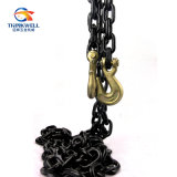 Clevis Hook를 가진 합금 Steel 까만 Tempered G80 Binder Chain