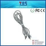 кабель USB длиннего заряжателя кабелей мобильного телефона 1m микро- на iPhone 5 5s 6 6s плюс