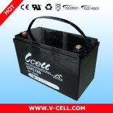 AGM Battery de Deep Cycle dos PRECÁRIOS 12V100ah