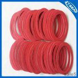 Anel de selagem vermelho da fibra da gaxeta de Fibr da fonte da fábrica