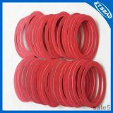Anillo de cierre rojo de la fibra de la junta de Fibr de la fuente de la fábrica