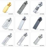 Accessori dell'abito del tenditore della chiusura lampo del Gunmetal con il cursore della chiusura lampo del metallo di alta qualità