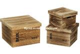 Rectángulo de madera modificado para requisitos particulares vendimia europea del estilo para el empaquetado del cereal