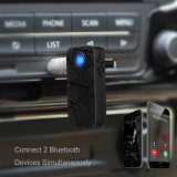 車のステレオのためのBluetooth 4.1のハンズフリーの可聴周波受信機