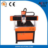 Pietra Acut-6090 che intaglia macchina, legno che funziona il router di CNC di 4 assi con grande rotativo