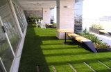 Grama artificial para ajardinar, jardim, decoração, área pública