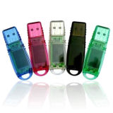 プラスチック32GB旋回装置USBのペン駆動機構(PZS004)