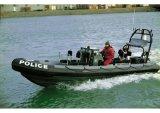 Barco del barco de /Patrol del bote de salvamento de Aqualand 30feet los 9m/de motor de la costilla (RIB900B)