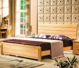 固体木のベッドの現代ダブル・ベッド(M-X2246)