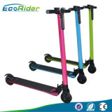 Scooter électrique pliable de la roue 350W de la lumière deux de modèle de fibre de carbone