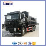 C100 Cabin를 가진 6X4 LHD Genlyon Iveco Dump Truck
