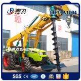 0-6m Petite machine de forage de creuse Auger