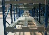 セリウムによって承認される倉庫の記憶の頑丈な鋼鉄ローラーの流れの重力のラッキング