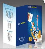 높은 품질 광택 아트지 광고 전단 팜플렛 도서 플러스