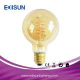 Rétro ampoule molle décorative de filament de la lumière St64/G80/G95/G125 Clear&Amber E27&B22 DEL