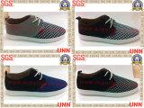 Mens en caoutchouc de chaussures de toile, (SD9058)