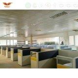 Compartiments bleus de bureau moderne premiers X poste de travail de 4 personnes