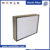 Filtre en fibre de verre HEPA Deep-Pleat pour purification de l'air