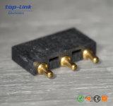 Connecteur à broches En laiton personnalisé de Pogo avec la résistance de contact maximum d'ohm de 30m