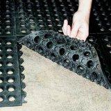 Stuoia di gomma di collegamento antibatterica del pavimento, stuoia di gomma di drenaggio