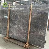 壁およびステップのための灰色カラーM715銀製のテンの大理石の平板